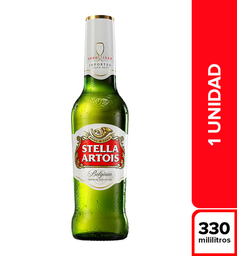Cerveza Internacional Stella Artois Botella 330 Cc