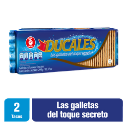 Ducales Galletas