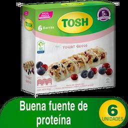 Tosh Barra de Cereal Con Frutos Del Bosque Sabor Yogurt Griego