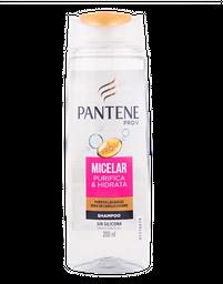 Shampoo Pantene Micellar Pantene Tarro 200 Ml
