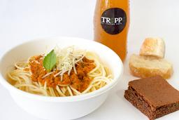 Combo Premium con Postre (Pasta - Bebida - Postre)