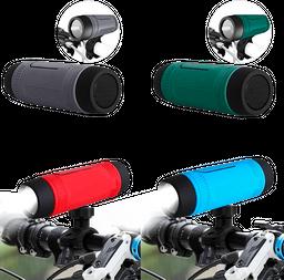 Parlante con bluetooth Para Bicicleta y Moto Con Linterna