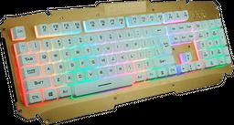 Teclado LED retroiluminada para pc gamer