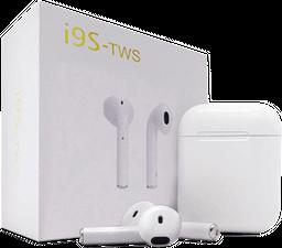 Audífonos Inalámbricos Bluetooth Android iPhone-Blancos-i9s TWS