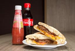 Sándwich Roastbeff + Néctar Oma o Coca cola 300 ml