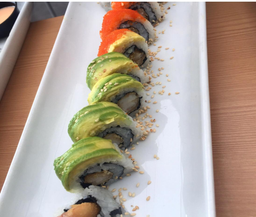 Arco Iris Roll (10 makis)