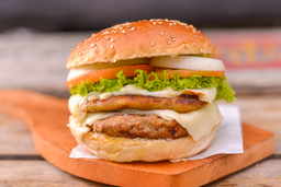 Hamburguesa Doble Carne o Mixta
