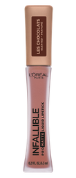 Labial L'Oréal Paris  Les Chocolats Pro-Matte Cocoa x 6.3 Ml