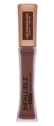 Labial L'Oréal Paris Les Chocolats Pro-Matte Lip 70% x 6.3 Ml