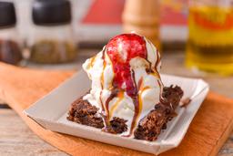 Brownie con o sin Helado