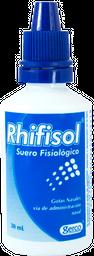 Suero Fisiológico Rhifisol Frasco X 30Ml
