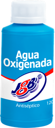Agua Oxigenada Jgb Sol 4% Topica Fra 120 Ml