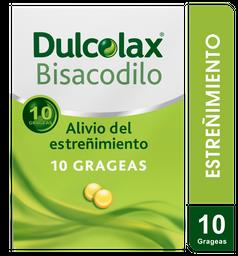 Dulcolax  5Mg X 10 Grageas. Estreñimiento