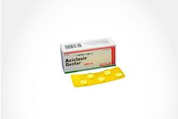 Aciclovir Genfar Tab 200 Mg Oral Caj 25 Un
