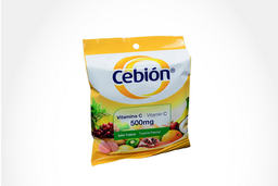 Cebion Tab Mas 500 Mg Oral Tropical Sob 12 Un