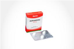 Azitromicina Genfar Tab 500 Mg Oral Cja 3 Un