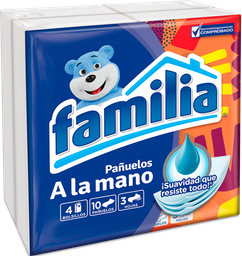 Pañuelos Familia Triple Hoja Bolsillo X 40 Und