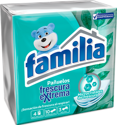 Pañuelos Familia Frescura Extrema X 40 Und