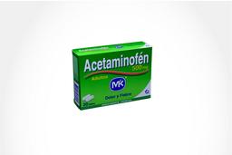 Acetaminofen Mk Tab 500 Mg Oral Cja 20 Un
