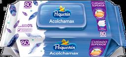 Toallitas Húmedas Pequeñín Acolchamax X80 Und