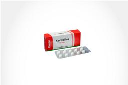 Sertralina Genfar Tab 50 Mg Oral Cja 10 Un
