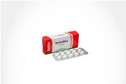 Sertralina Genfar Tab 100 Mg Oral Cja 10 Un