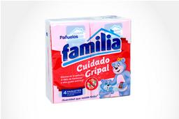 Pañuelos Facial Familia Cuidado Gripal Bolsa 4 Un