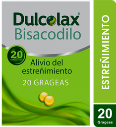Dulcolax 5 Mg X 20 Grageas. Estreñimiento