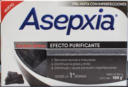 Jabon Asepxia Jab Topica Carbon Detox Bar 100 G