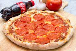 Pizza Pepperoni + Gaseosa