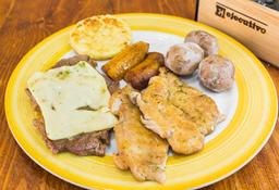 Mix de Pollo y Churrasco