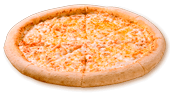 Pizza Jamón y Queso Gigante
