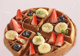 Waffle de Banana, Avena y Canela