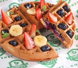 Waffles de Proteína