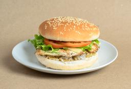 Hamburguesa Sencilla Pollo Callegera Clásica