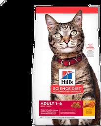 Hills feline adulto 1-6 años 4lb