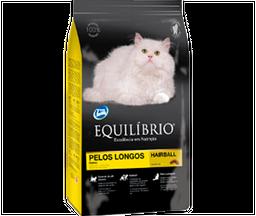 Equilibrio gato pelos longos 1,5kg