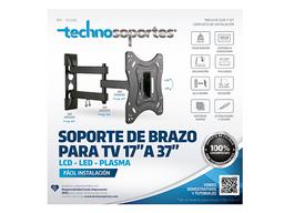 """Soporte de Brazo para TV de 17"""" a 37"""""""