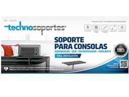 Soporte para consolas de Video Juegos, decofidicador u otros
