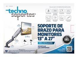 "Soporte de Brazo para Monitores de Escritorio de 17"" a 27"""