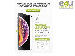 Vidrio Templado Iphone XR Negro