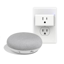 Kit domótica Google home mini + Enchufes inteligentes