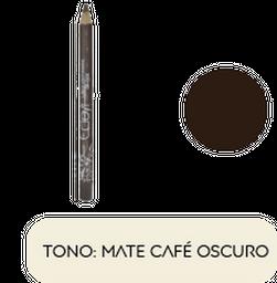 Lapiz  de Cejas - Ojos Ecleyr Tono Mate Café Oscuro