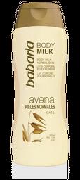 Crema Body Milk Avena - Babaria
