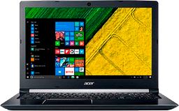 "Portatil ACER; Intel CORE i 7 8550U 8GB 1TB 15.6"" W10H NEGRO"