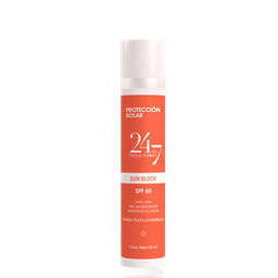 Protector solar Humectante SPF60 matte finish 50 ML
