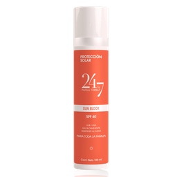 Protector solar Humectante SPF60 matte finish 100 ML