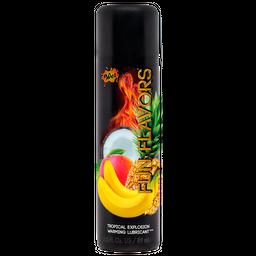 Lubricante  Wet Fun Flavors 4 En 1 Explosion tropical 3 oz.