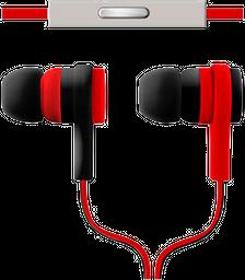 Audífono Sound Effects Con Micrófono - Rojo