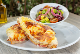 Sándwich Croque Monsieur + bebida